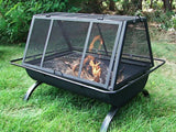 Sunnydaze Northland Backyard Patio Large Grill Fire Pit - cheapbuynsave.com - 2