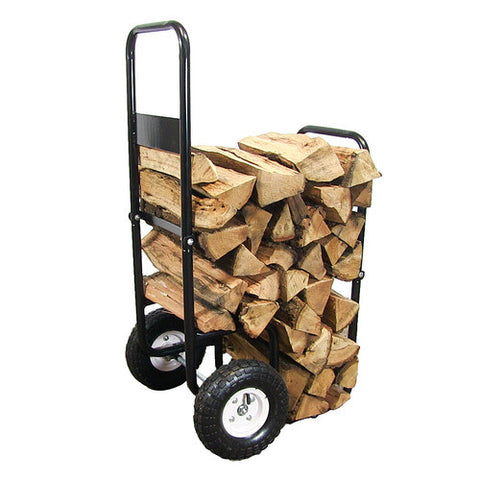 Sunnydaze Firewood Heavy Duty Steel Log Cart - cheapbuynsave.com - 1