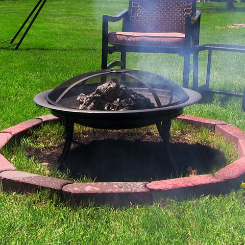 "Sunnydaze 29"" Portable Camping Fire Pit with Carrying Case - cheapbuynsave.com - 1"