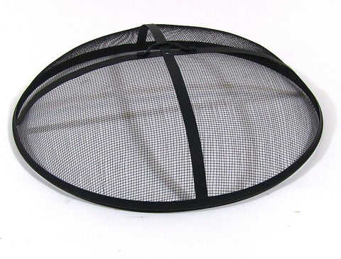 Fire Pit Cover Spark Screen - 19,21,22,24,,30,31,36,40 Metal Dome - cheapbuynsave.com