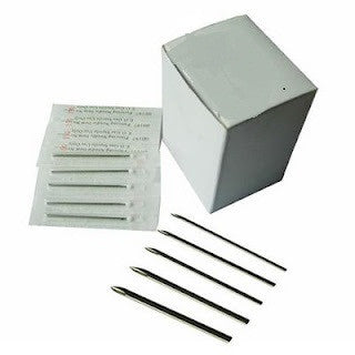 100 PC. Sterilized Body Piercing Needles (12G, 10G, 8G) - cheapbuynsave.com - 1