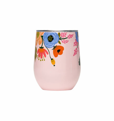 12oz Stemless Lively Blush
