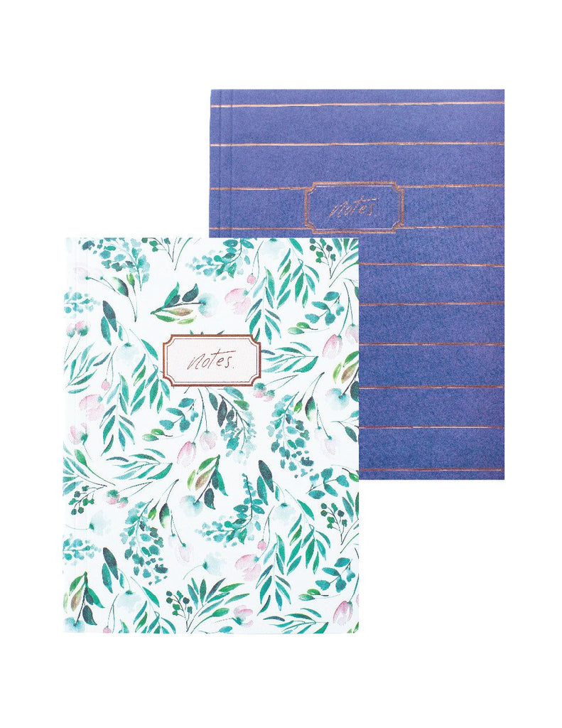 Floral Lined Notebook Set