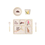Australiana - 5 Piece Bamboo Dinner Set