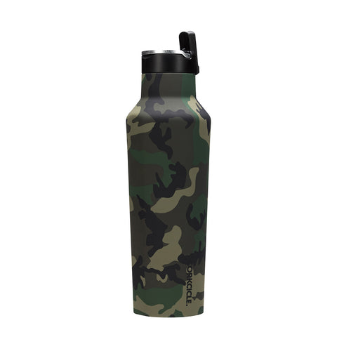 20oz Sports Canteen Woodland Camo