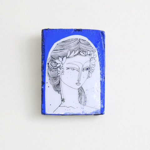 Indigo Kalindi Mini Tile