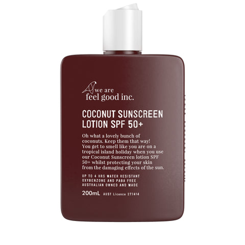 Coconut Sunscreen 50+