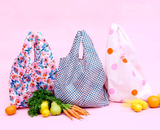 Candy Florals Reusable Shopping Bags