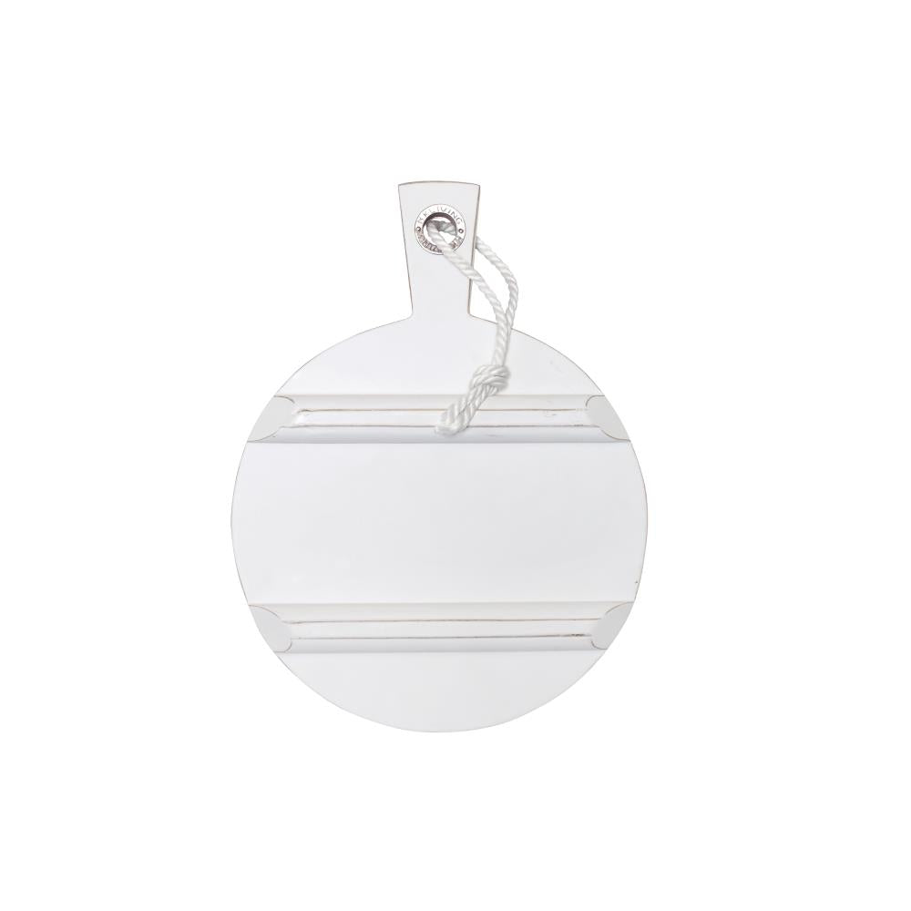 Breadboard Round Small White