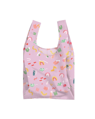 Lilac Pop Reuseable Shopping Bag