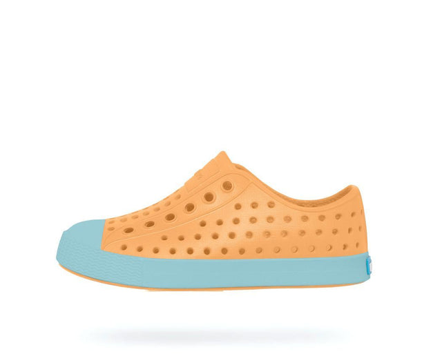 Native Shoes Jefferson Lazer Orange / Sherbert Blue