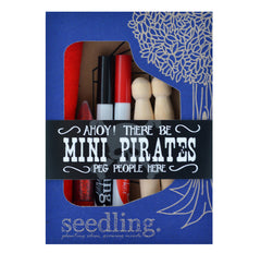 Seedling Ahoy Mini Pirates Peg People