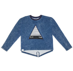Band of Boys Just A Triangle Patch Jumper