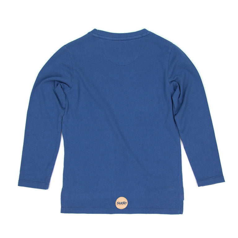SUDO Sunrise Longsleeve Tee River Blue