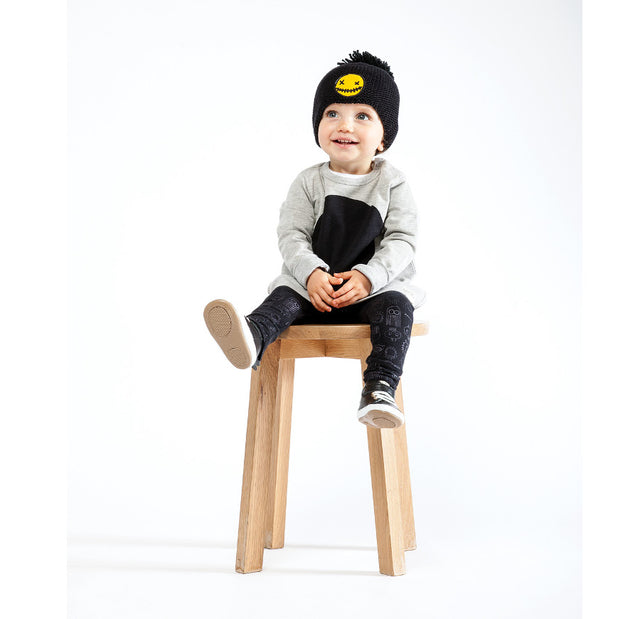 Band of Boys Organic Baby Circle Patch A-Line Crew