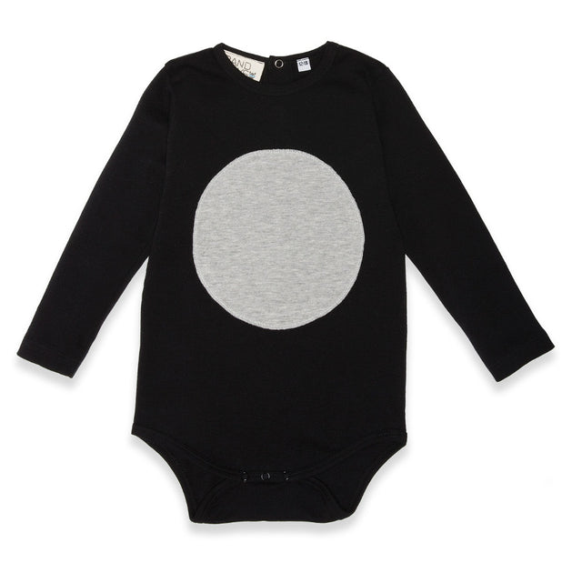 Band of Boys Organic Baby Circle Patch Onesie