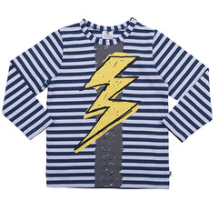 Hootkid Hot Shot Tee Navy/White Stripe
