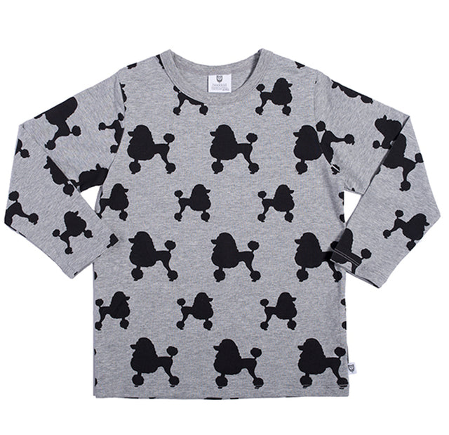 Hootkid Poodles and Poodles Tee