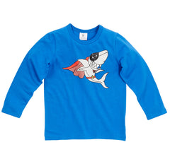 Hootkid Super Shark Tee - LAST ONE SIZE 3