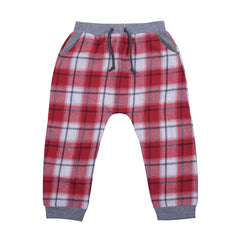 Hootkid Skater Street Pant Red Check