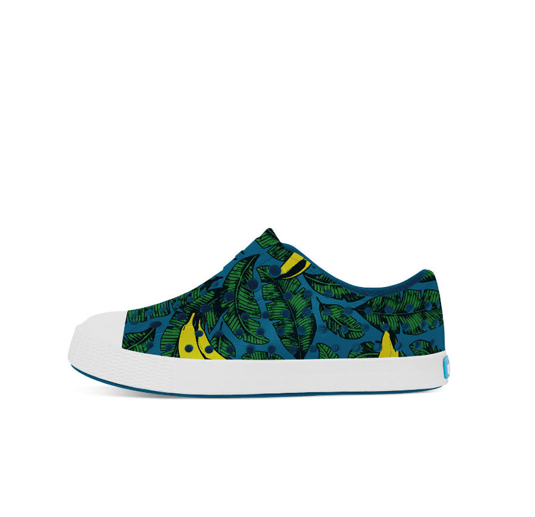 Native Shoes Jefferson Midnight Blue/ Shell White/ Bananas