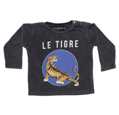 Zuttion Le Tigre Long Sleeve Tee - Baby