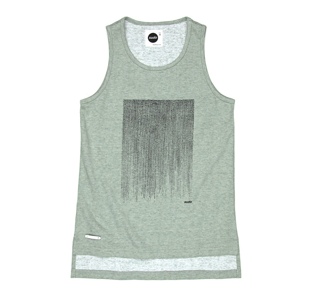 SUDO Bravo Singlet Faded Green
