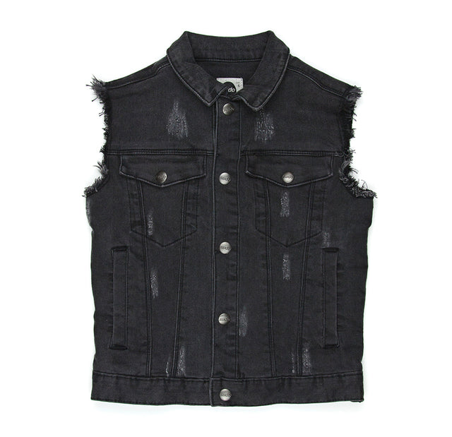 SUDO Denim Vest Asphalt