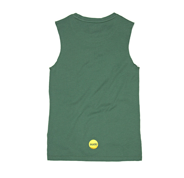 SUDO Freestyle Sleeveless Tee - Pine