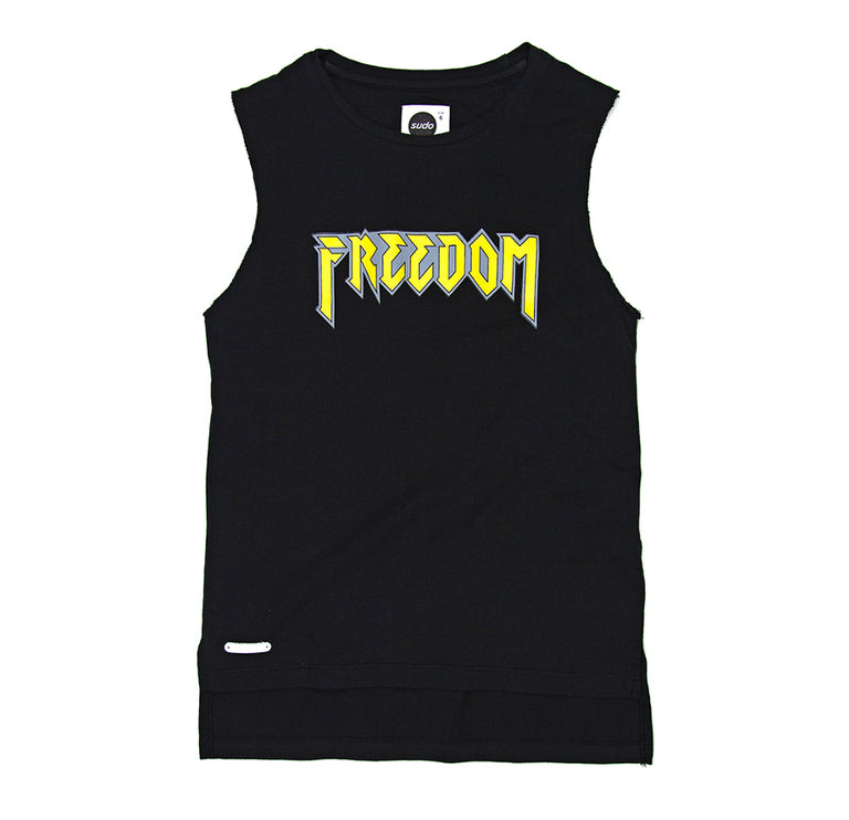 SUDO Freestyle Sleeveless Tee - Raven