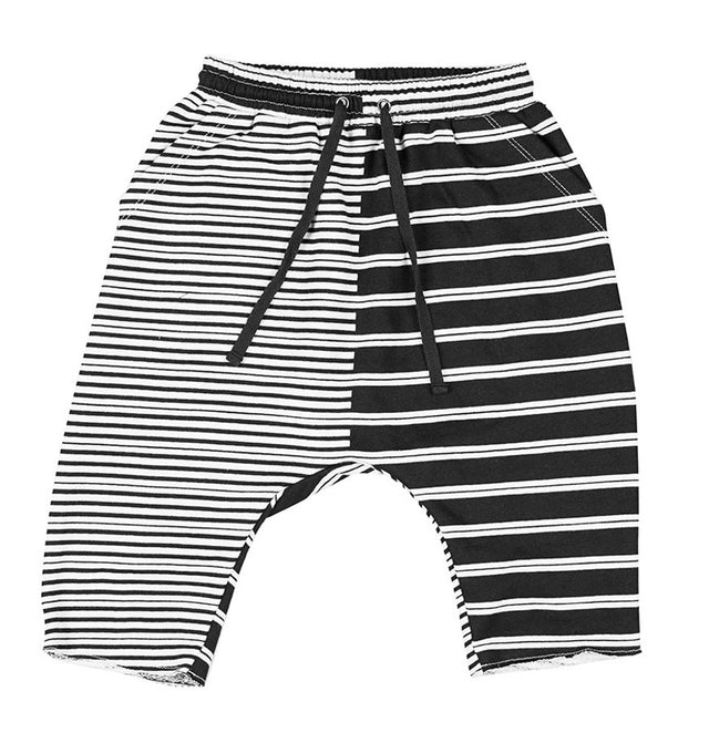 Zuttion 2 Stripes Low Crotch Track Short