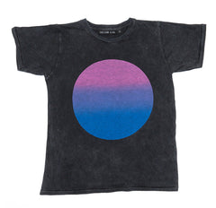 Zuttion Circle Round Neck Tshirt - LAST ONE SIZE 6