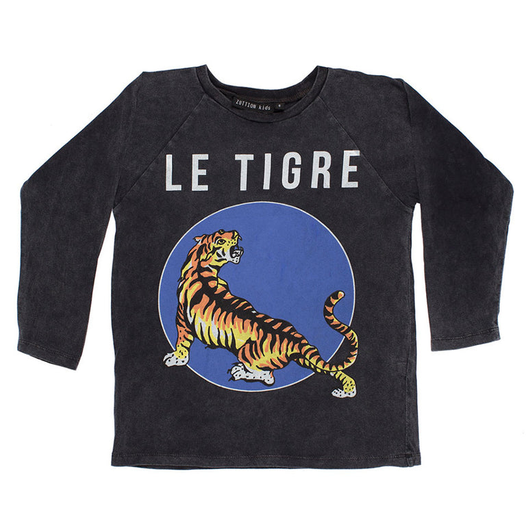 Zuttion Le Tigre Long Sleeve Tee