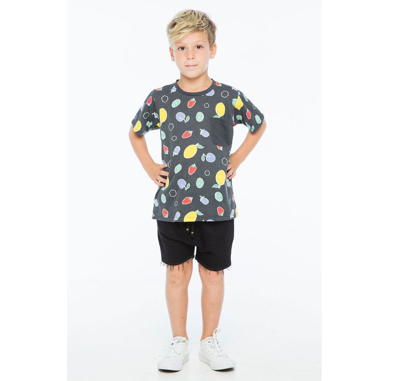 Zuttion Summer Fruits Pocket Tee