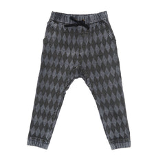 Zuttion Trackies Slouch Pant Harlequin