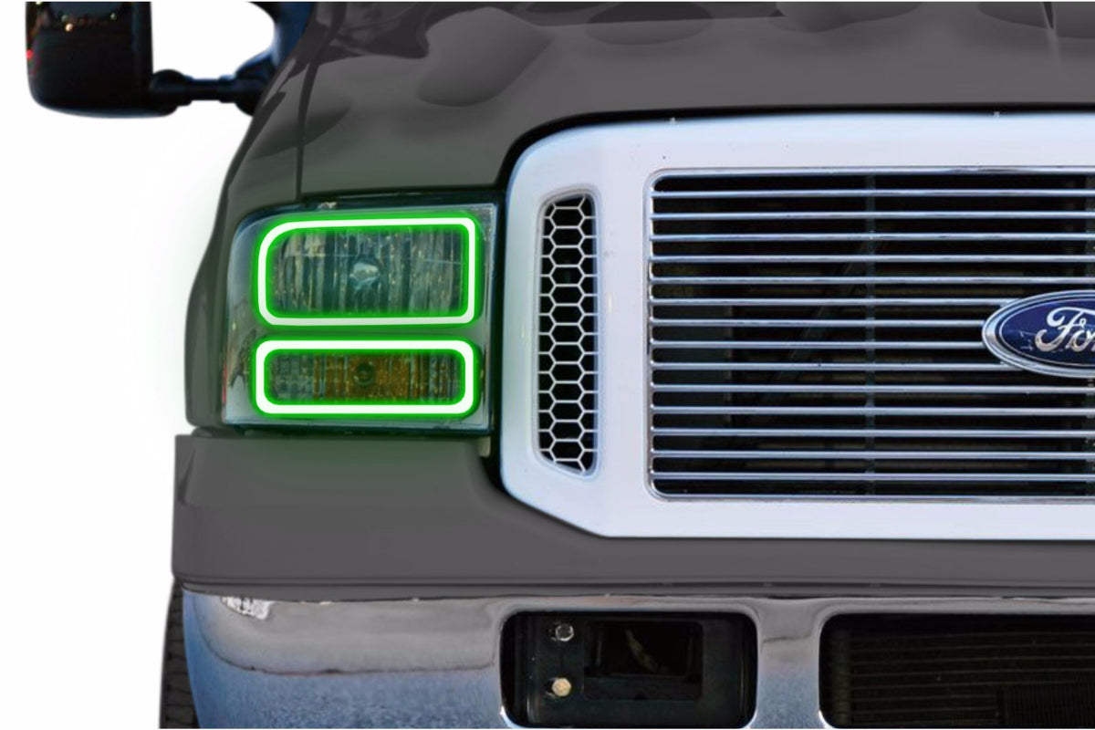Ford Super Duty (05-07): Profile Prism Fitted Halos (RGB)