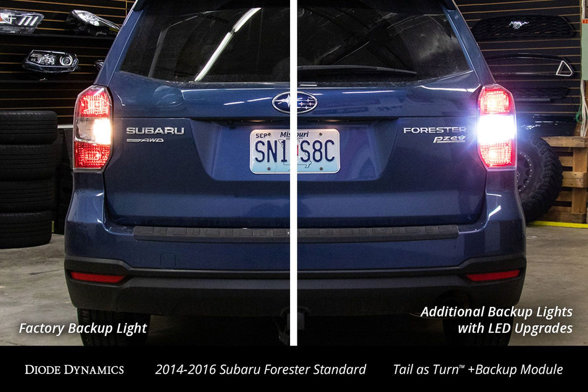 2014-2016 Subaru Forester Standard Tail as Turn™ +Backup Module (USDM)