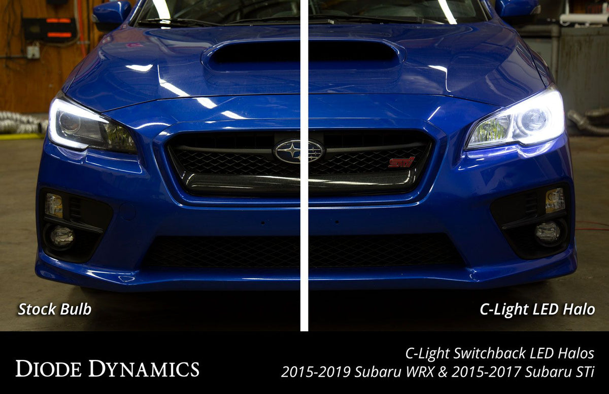 2015-2019 Subaru WRX/STi C-Light Switchback LED Halos