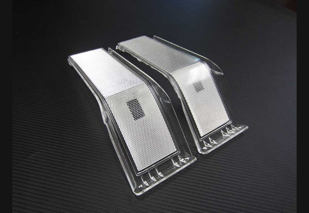 2008-2010 Superduty Clear Headlight reflectors