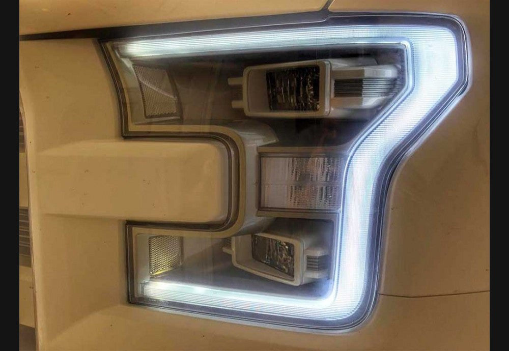 2015-2017 F150 Clear Headlight Markers
