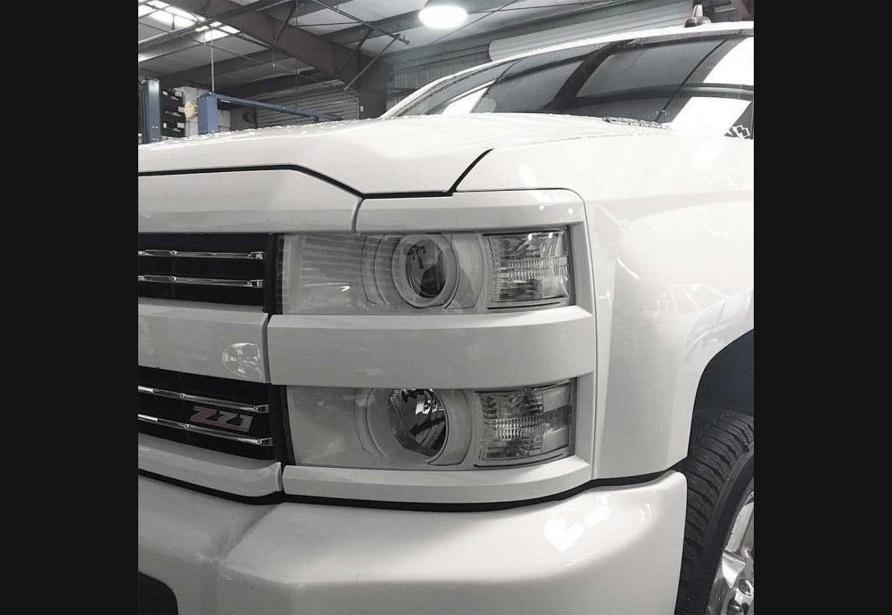 2014+ HD (2500 3500) Clear Headlight Markers