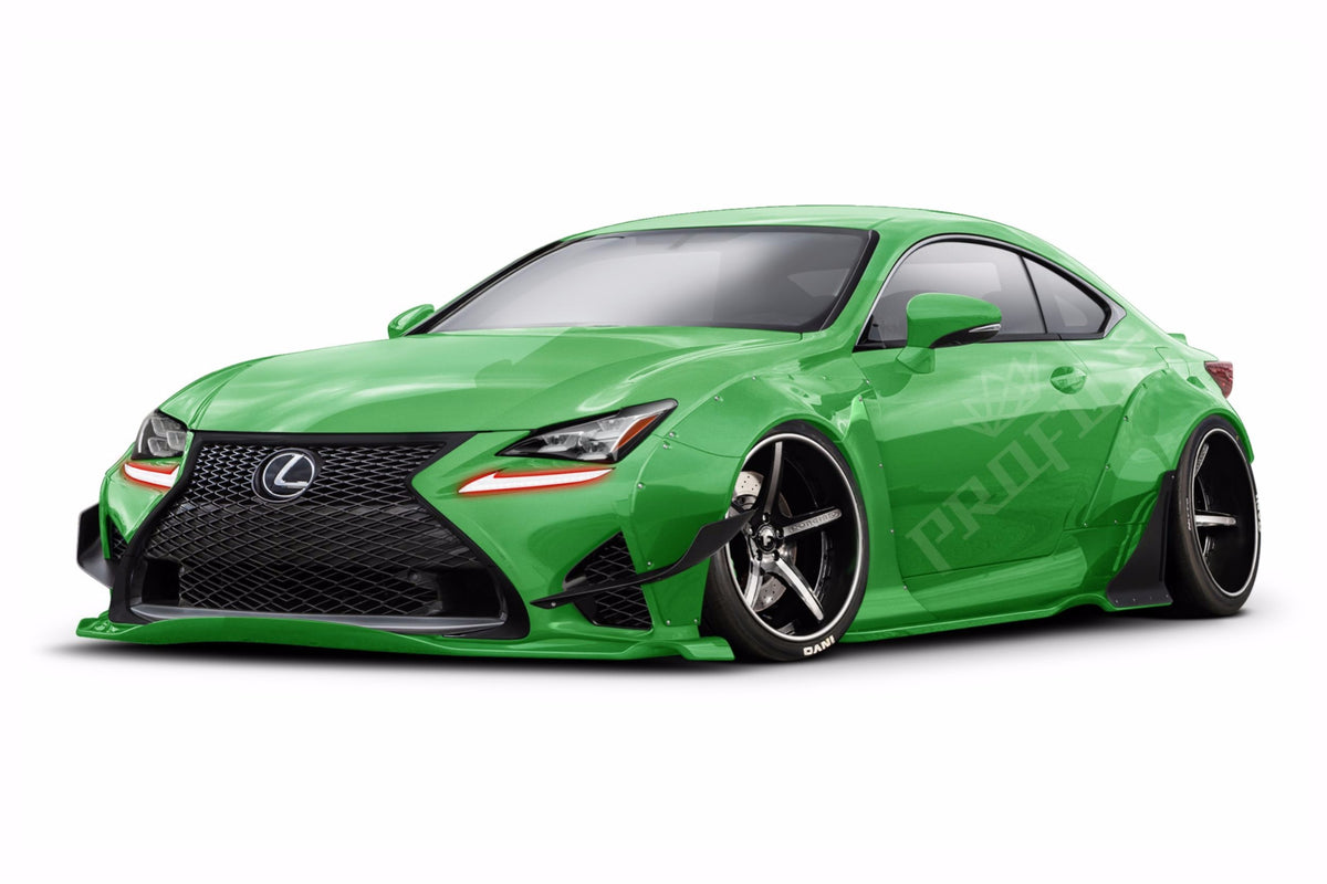 2015+ Lexus RC: Profile Pixel Drl Boards