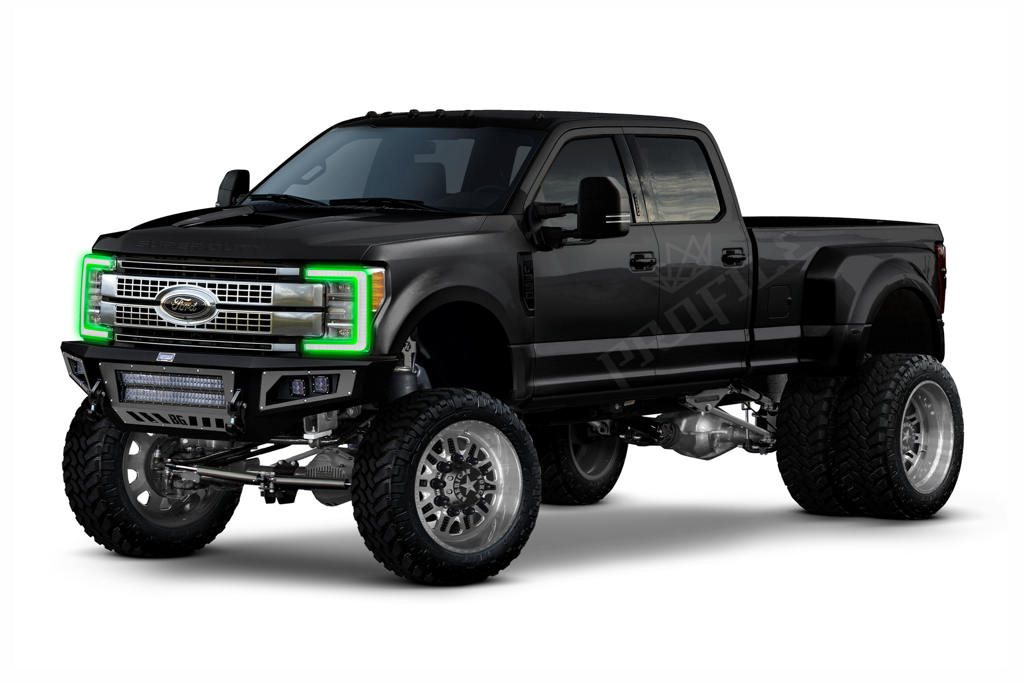 2017+ Ford Super Duty: Profile Pixel Drl Boards