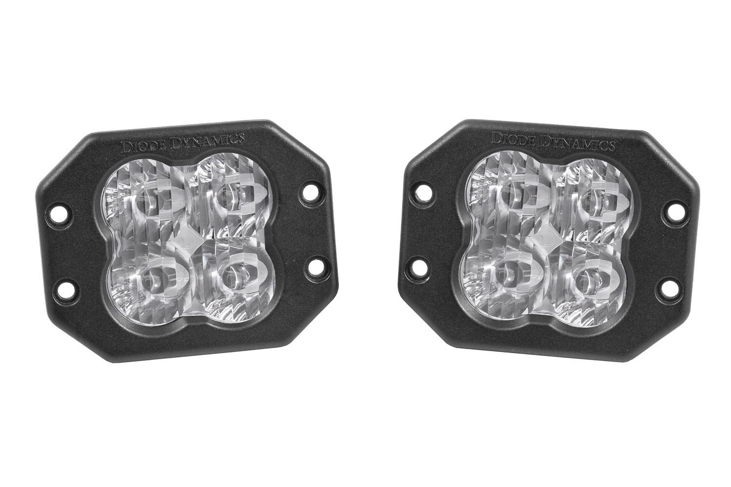 "Diode Dynamics: Stage Series 3"" LED Pod Flush Mount (pair)"