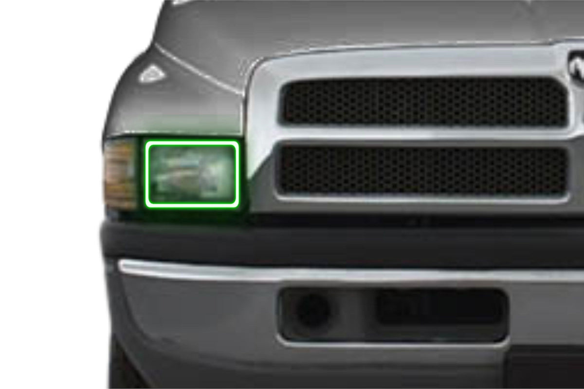 Dodge Ram (94-01): Profile Prism Fitted Halos (RGB)