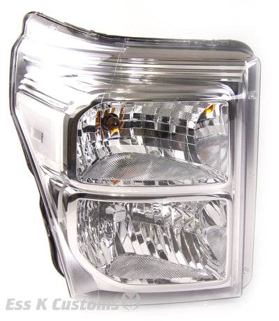 11-16 superduty clear reflectors