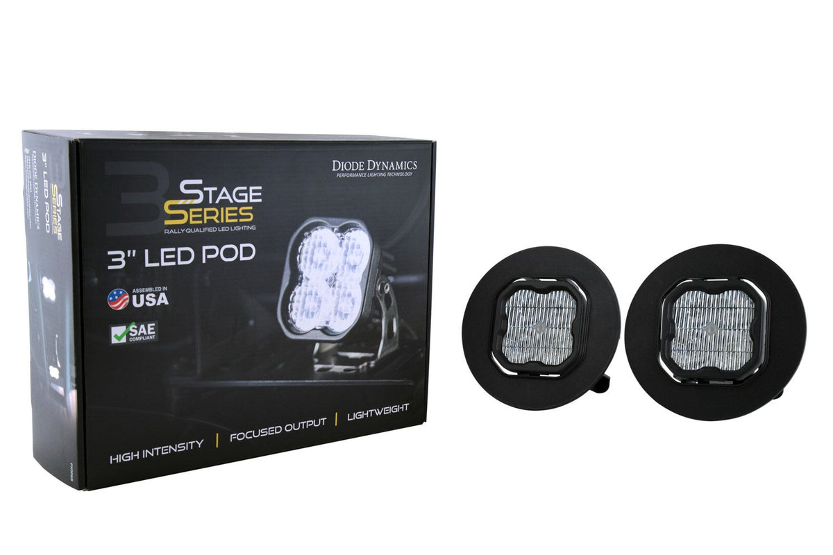 "Stage Series 3"" SAE/DOT Type GM5 Fog Light Kit"