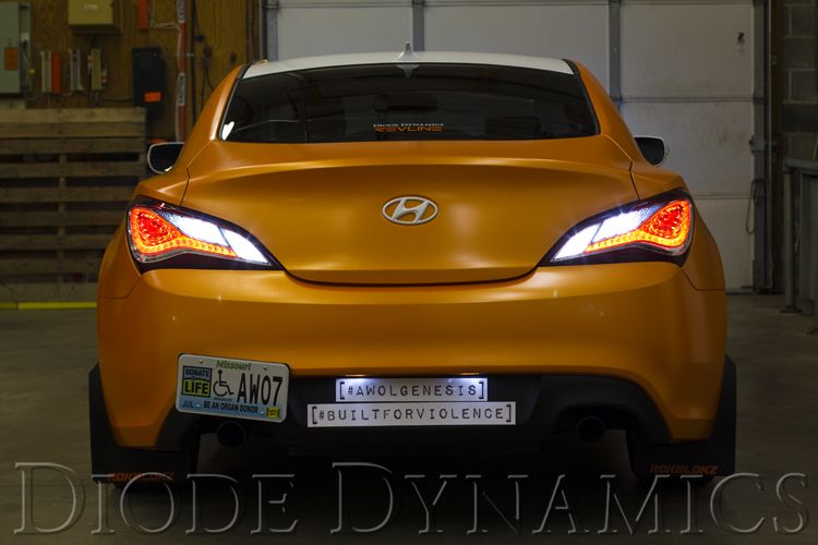 2013-2016 Hyundai Genesis Coupe Tail as Turn™ +Backup Module
