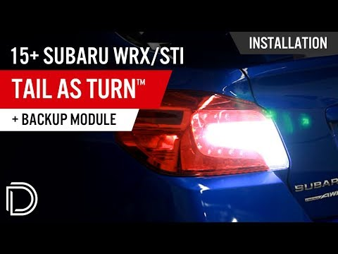 2015-2020 Subaru WRX / STi Tail as Turn™ +Backup Module (USDM)