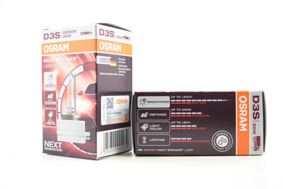 D3S: OSRAM XENARC 66340 NIGHT BREAKER LASER